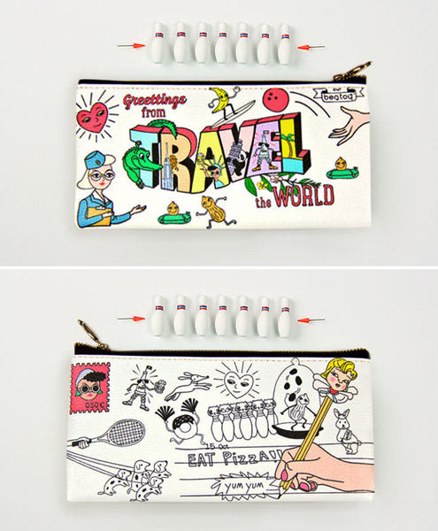 Travel Pencil Case by Bentoy