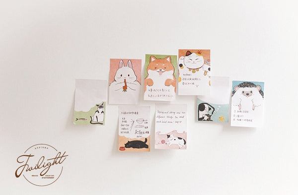 Pets [Want To Eat Fish] Sticky Notes