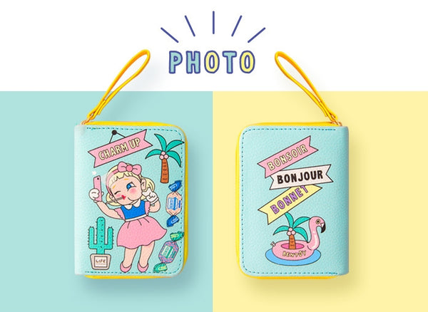 Girl Photo Girl Card Box By Bentoy