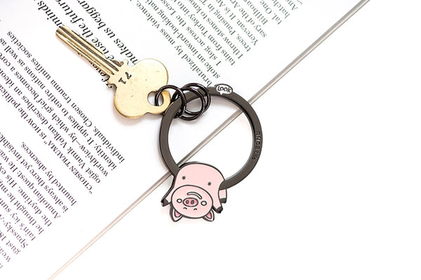 Hanging On Animal Piggy Key Chain By U-Pick