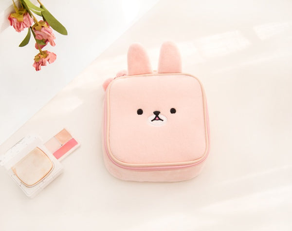 Animal Pink Square Pouch By Bentoy