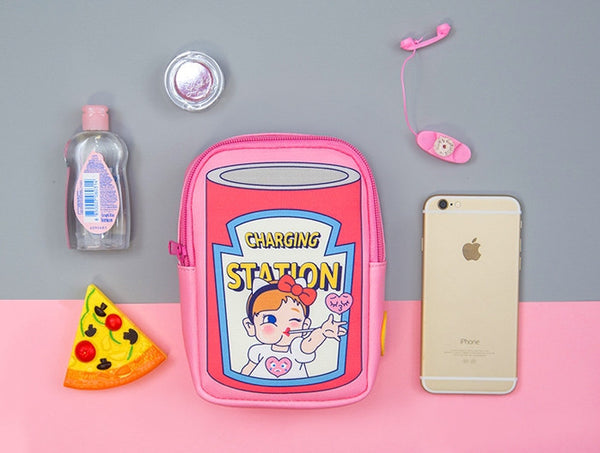 Pink Charging Station Pouch By Bentoy