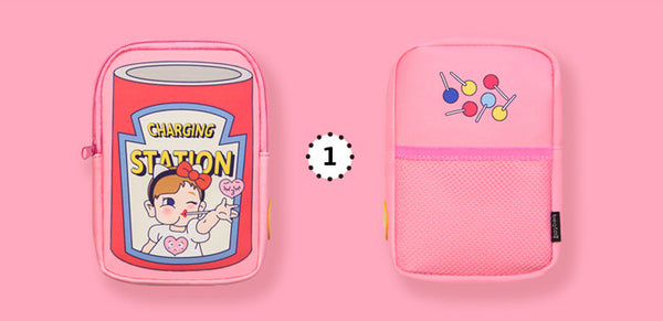 Charging Station Pink Pouch By Bentoy