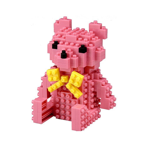 Pink Toy Bear - Tico Bricks