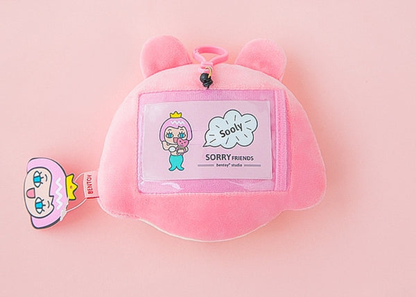 Sooly Sorry Friends Plush Card Holder By Bentoy