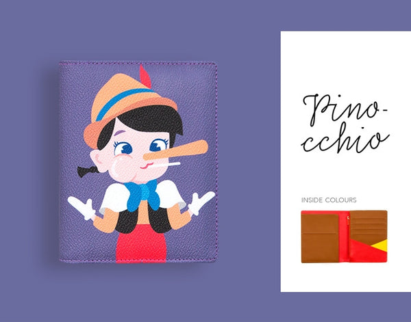 Pinocchio Passport Cover By Bentoy