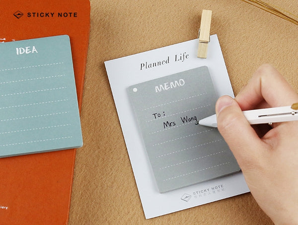 Planned Life [WTF] Sticky Notes