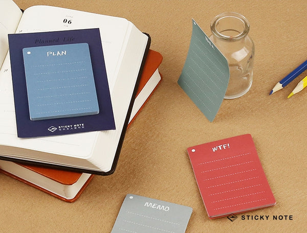 Planned Life Sticky Notes