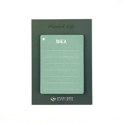Planned Life Idea Sticky Notes