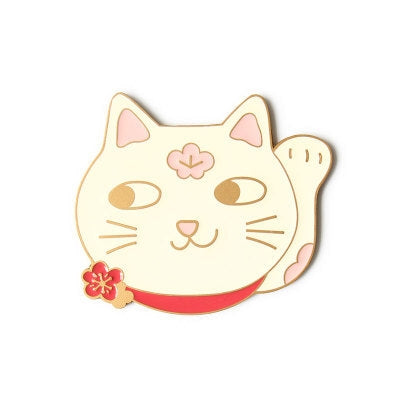 Pocket Mirror [Lucky Cat] By U-Pick