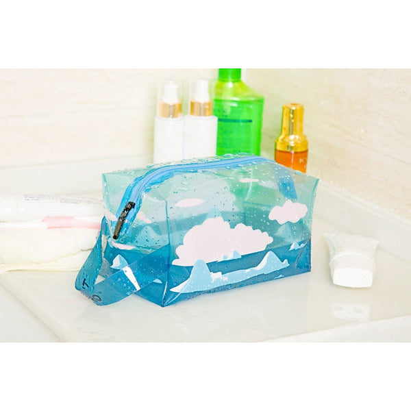 Transparent [Polar Bear] Box Pouch With Strap By TUOUO