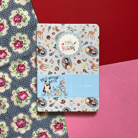 Disney Princess Snow White Blue Planner Book