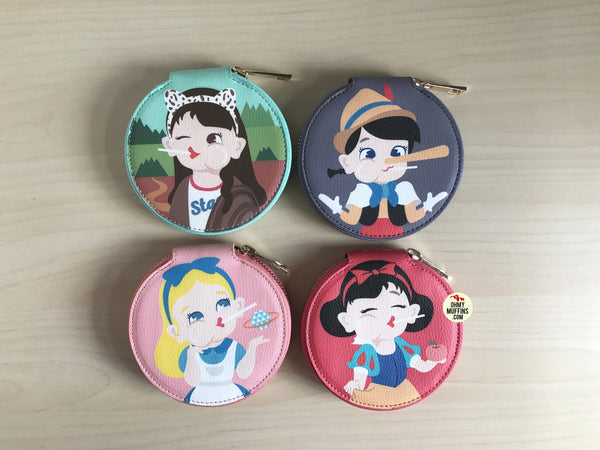 Princess Round Coin Pouch By Bentoy
