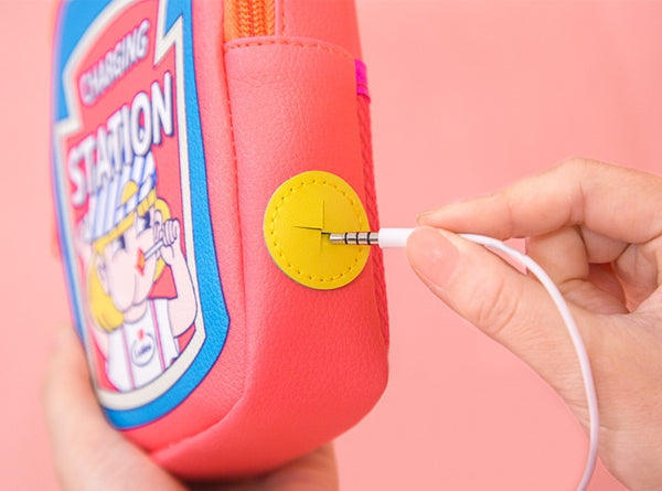[Pre-Order] Charging Station [Pink] Pouch By Bentoy
