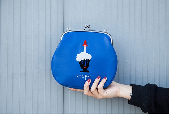Rocket Ball Clasp Bag By YIZI