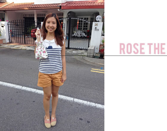 [Rose The] Drawstring Pouch