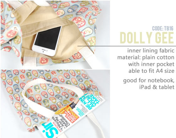 [Dolly Gee] Small Tote Bag