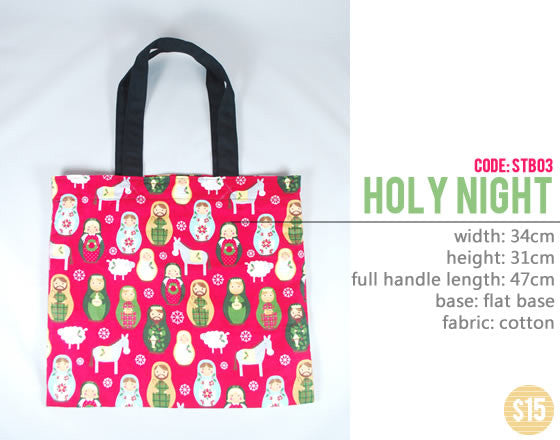 [Holy Night] Small Tote Bag