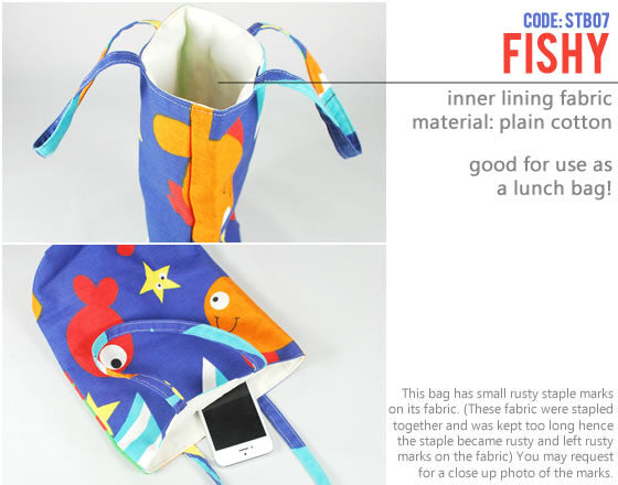 [Fishy] Small Tote Bag