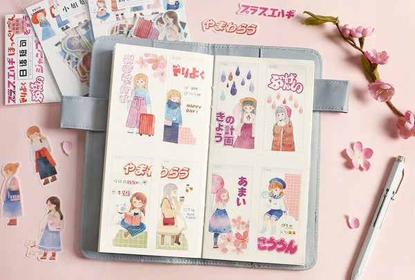 Sakura [Rose Girl] Stickers Pack