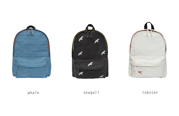 Sea Denim Backpack By YIZI - Out Of Production