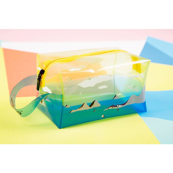 Transparent [Seal] Box Pouch With Strap By TUOUO