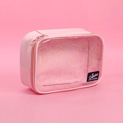 Secret Sparkle [Pink] Makeup Pouch By Milkjoy