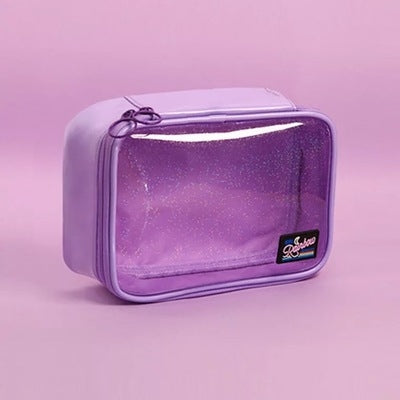 Secret Sparkle [Purple] Makeup Pouch By Milkjoy