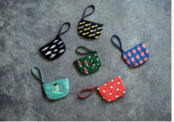 Semi-Circle Pouch by YIZI - OUT OF PRODUCTION