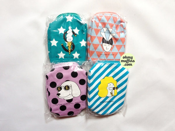 Small [Material Girl] Box Pouch by Kiitos Life