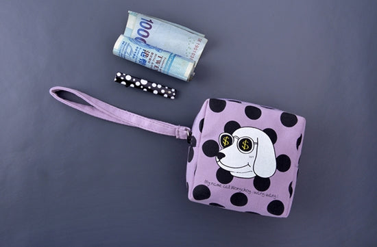 Small Wong Choy Box Pouch by Kiitos Life