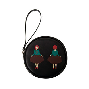 Small [Riding Hood] Round Pouch by YIZI STORE X KOMESHOP