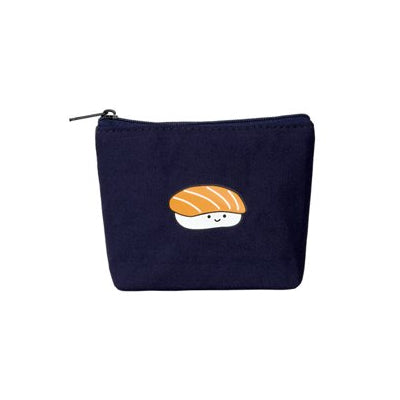 Smile [Salmon] Coin Pouch By Kiitos Life