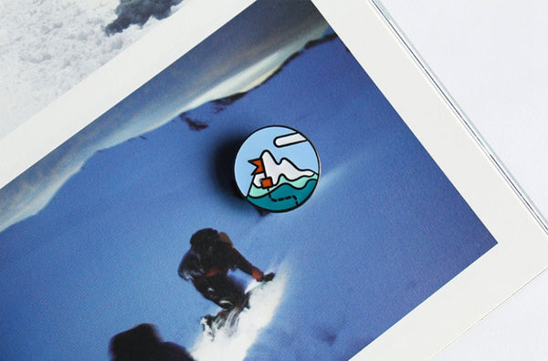Snow Mountain Life Is A Journey Pin By U-Pick