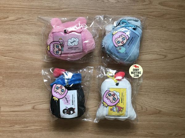 Sorry Friends [Eido] Card Holder Plush Charm By Bentoy