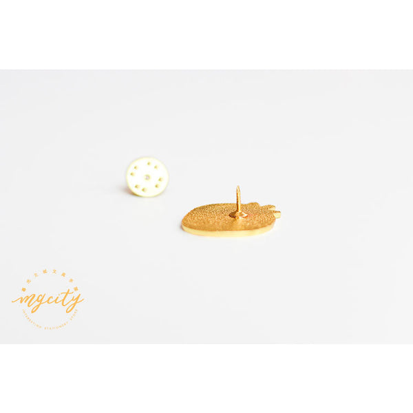 Sparkling Cute [Peach] Pin By MGCITY