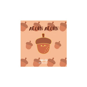Sparkling Cute Acorn Pin By MGCITY