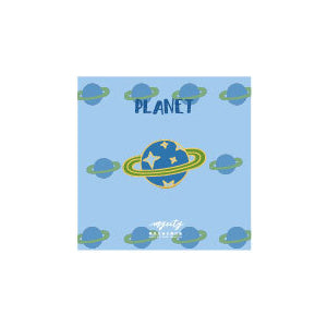 Sparkling Cute Planet Pin By MGCITY