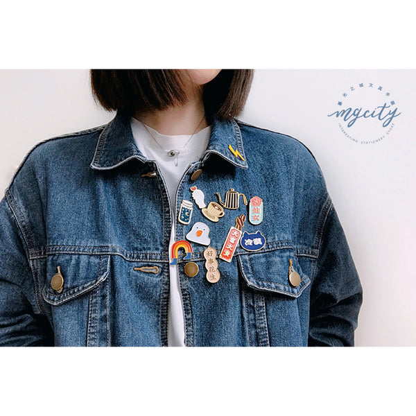 Sparkling [Funny Duck] Pin By MGCITY