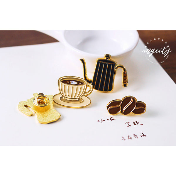 Sparkling [Coffee Bean] Pin By MGCITY