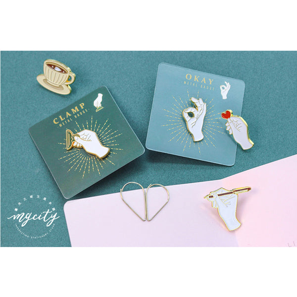 Sparkling [Writing] Pin By MGCITY