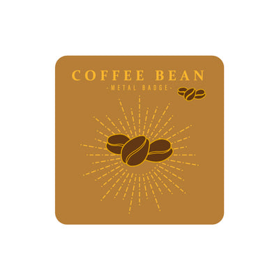 Sparkling Coffee Bean Pin By MGCITY