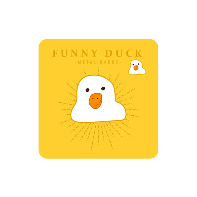 Sparkling Funny Duck Pin By MGCITY