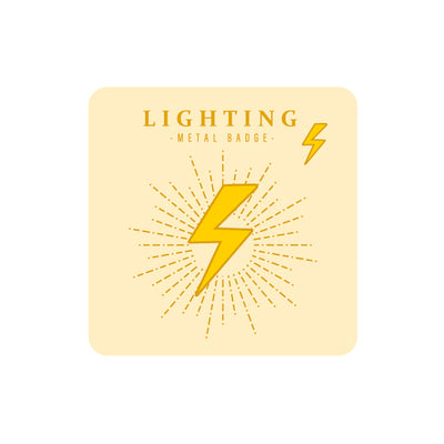 Sparkling Lightning Pin By MGCITY