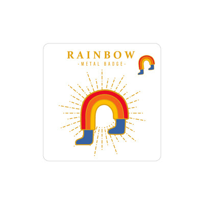 Sparkling Rainbow Pin By MGCITY