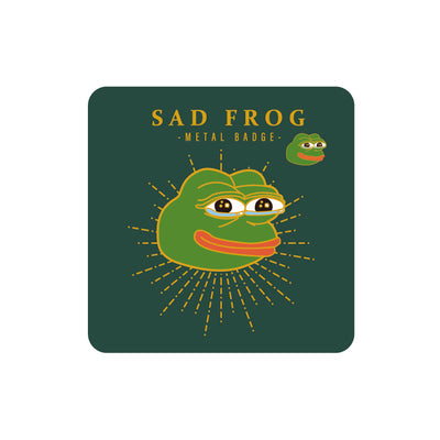 Sparkling Sad Frog Pin By MGCITY
