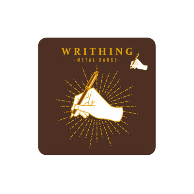 Sparkling Writing Pin By MGCITY