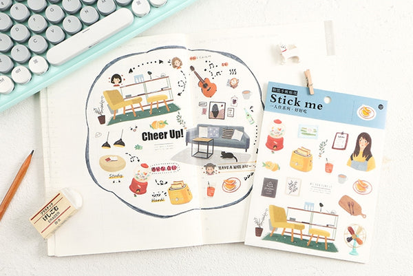 Home [Good Eat] Stick Me Stickers