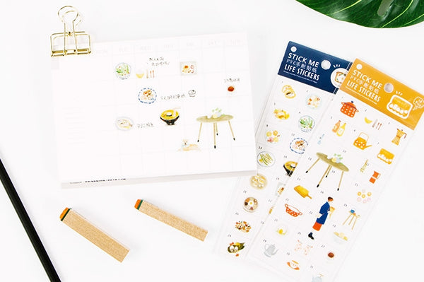 Food Stick Me Stickers