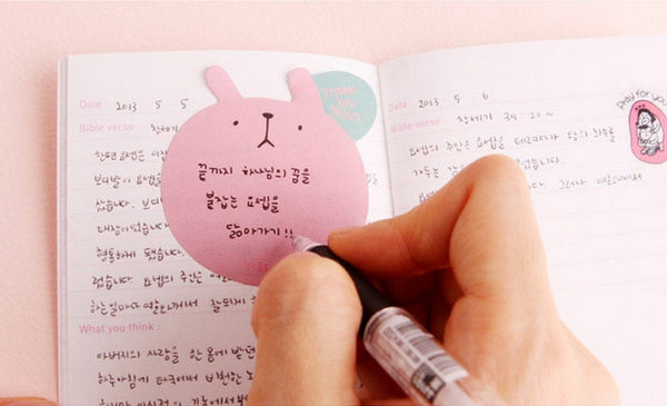 Korean Sticky Notes (Big Head)